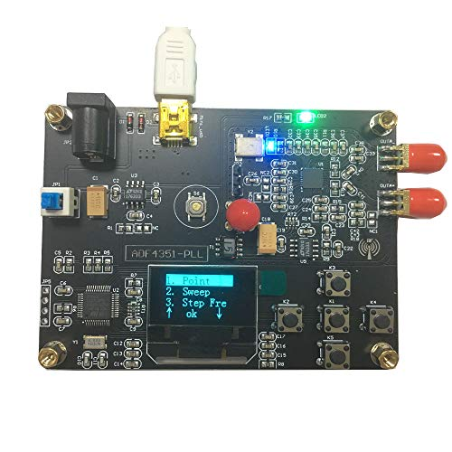 RF Signal Generator Frequency 35MHz-4400MHz Signal Source chip ADF4351