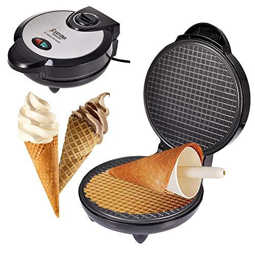 wenhe - Máquina eléctrica para gofrier, gofrera profesional, placas antiadherentes, antiadherentes, plato para hornear postre, utensilios de cocina para postre vacaciones.