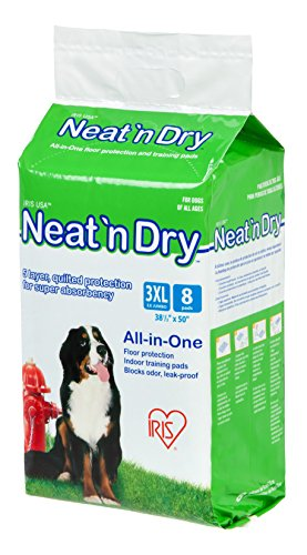IRIS Neat 'n Dry Premium Pet Training Pads, Super Jumbo, 38