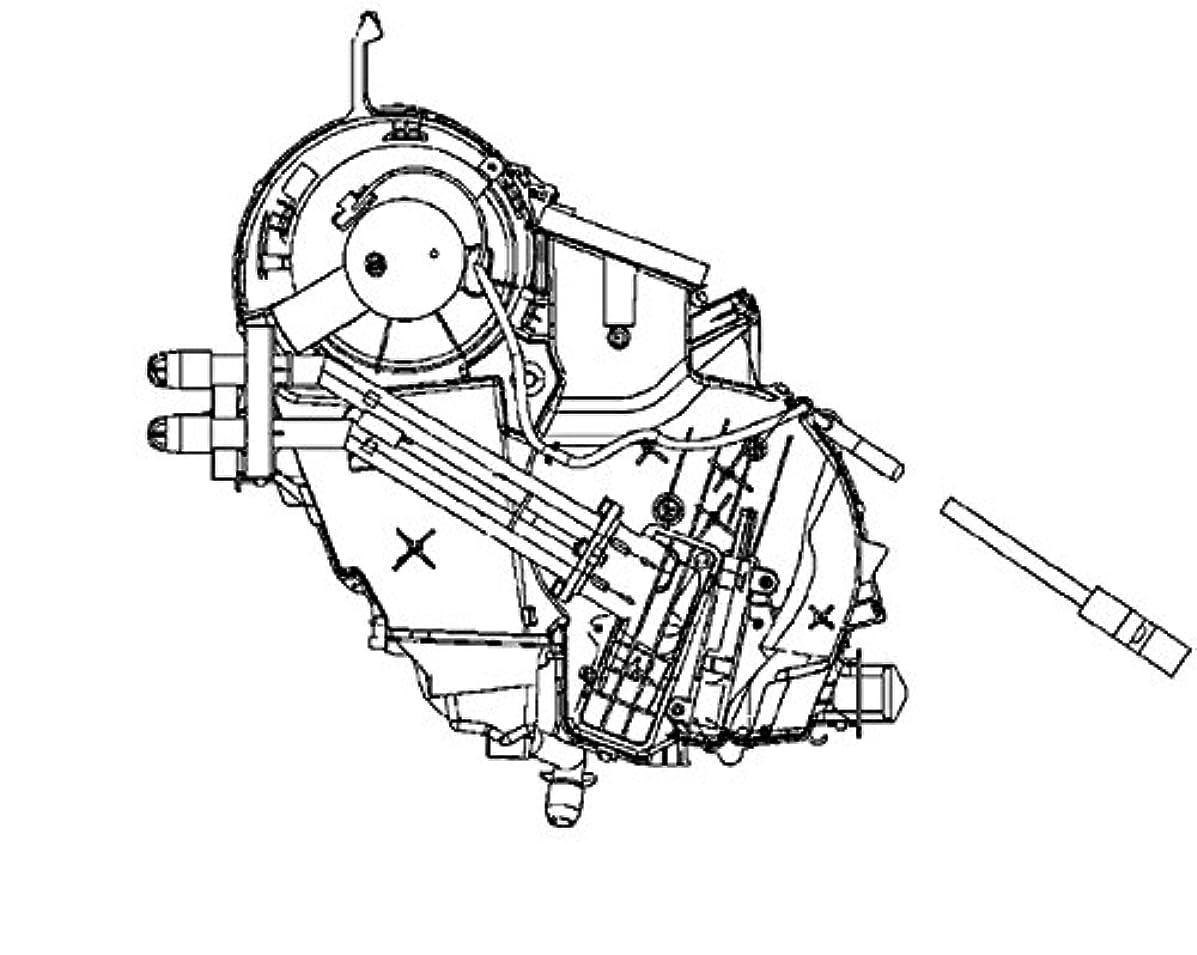BEHR HELLA SERVICE 8FV 351 330-161 PREMIUM LINE Evaporator, air conditioning
