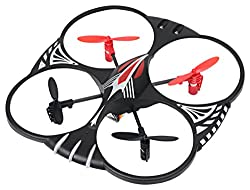 Attop YD-716 4 Channel RC 3-Axis Flight Control UFO Quadcopter w/LED Lights 75% off
