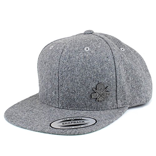 Sullen Clothing Herren Snapback Cap - Pendant Wool Grau
