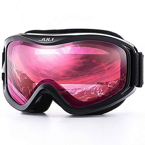 CHENTAOCS MAXJULI merk professionele skibril dubbele laag lens anti-fog UV400 skibrillen mannen vrouwen skibril skiën