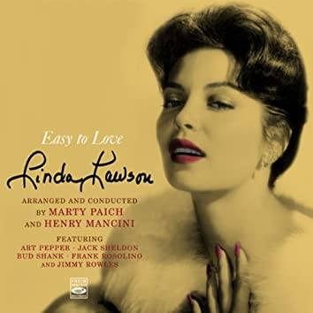 """Linda Lawson. """"Easy to Love"""". Arranged and Conducted by Marty Paich and Henry Mancini. Includes Her Album Introducing"""