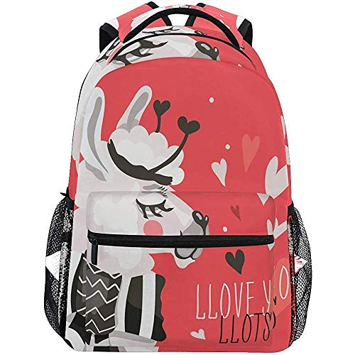 Bookbag San Valentino met rugzak voor dames en heren, reizen, laptop-rugzak, schoudertas