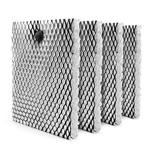 MYTWO HWF100 HWF100-UC3 Lot de 4 filtres à mèche pour humidificateur Holmes E