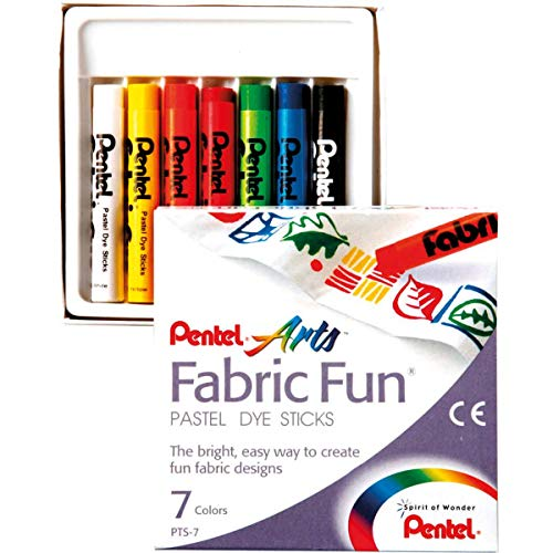 Pentel Fabric Fun Pastel Dye Sticks