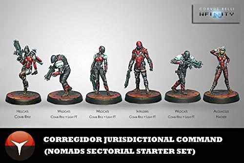 Corvus Belli Corregidor Jurisdictional Command (6) Nomads Infinity