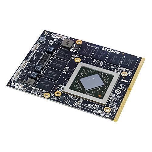 Scheda grafica da 2 GB di sostituzione per iMac 27 pollici metà 2011 A1312 computer desktop Core i5 3.1 MC814LL/A MC814, AMD Radeon HD 6970M GDDR5 2 GB MXM Scheda Video Parti di Riparazione