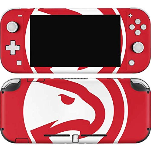 Skinit Decal Gaming Skin Compatible with Nintendo Switch Lite - Officially Licensed NBA Atlanta Hawks Largo Logo Design