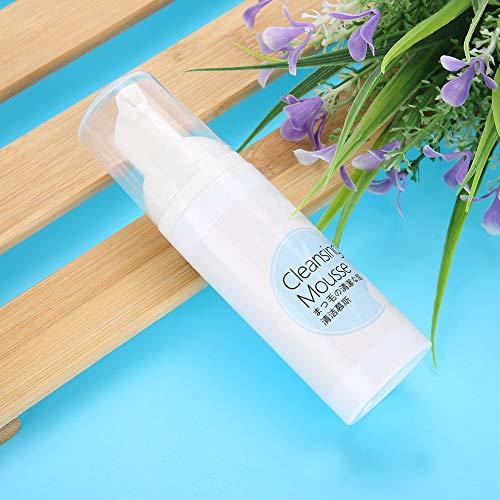 Limpiador espumoso de extensión de pestañas, champú de pestañas portátil fácil de operar 60 ml compacto ligero para injerto de pestañas