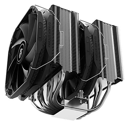 GUOJIAYI Tercera generación AS500 Plus CPU radiador Mute CPU Ventilador Asasin-III