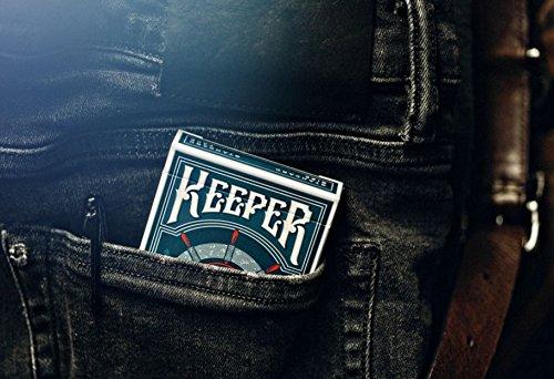 Ellusionist Mazzo di Carte Keeper Deck Blu by