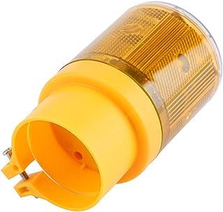 Flashing Car, Flashing LED Signal Light 0.3W IP65 Waterproof Solar LED, for Snowy Mud Wind Season Outdoor(yellow)