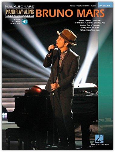 Piano Play-Along Volume 126: Bruno Mars. Partitions, CD pour Piano, Clavier, Paroles Seulement, Guitare avec rythmique