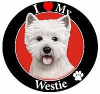 E & S Pets Car Magnet, Westie by E&S Pets