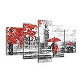 Cuadro sobre lienzo - Impresión de Imagen - Londres arquitectura ben grande - 160x85cm - Imagen Impresión - Cuadros Decoracion - Impresión en lienzo - Cuadros Modernos - EA160x85-3153