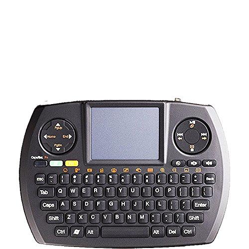 SMK-Link Wireless Ultra Mini Touchpad Keyboard Black SKKVP6364