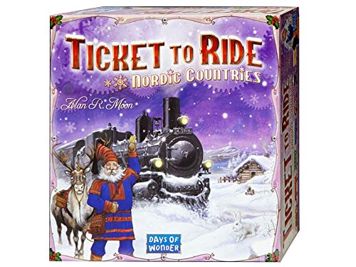 Ticket to Ride Nordic Countries Giocco