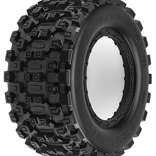 Proline Badlands MX43 All Terrain Truck Reifen v/h (2) für z.B Traxxas XMAXX