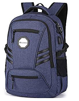 Business Laptop Backpack with USB Charging Port