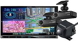 ケンウッドMDV-M906HD+DRV-N530+DRV-R530+CMOS-C230ハイレゾ再生HDパネル搭載彩速ナビ+前後方録画ドラレコ+バックカメラセット