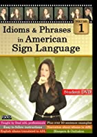 Idioms & Phrases in American Sign Language 1 [DVD] [Import]