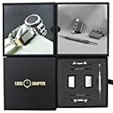 Link- watch adapter compatible with LEATHERMAN TREAD - Stainless Steel (compatible with Apple watch 44mm/ 42mm, Stainless Steel, TREAD)