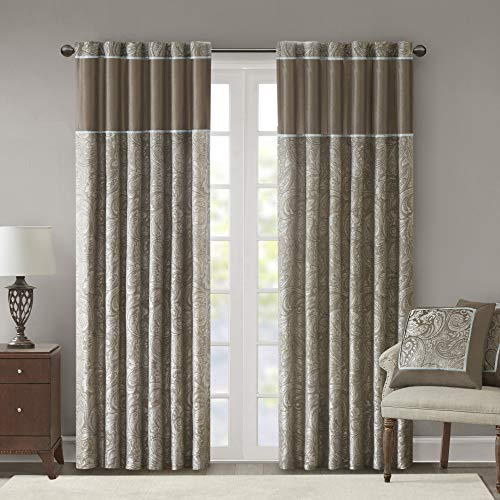 cortina marron fabricante Madison Park