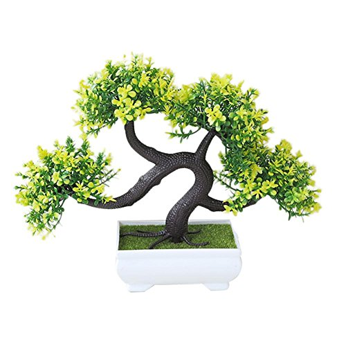 Dianhai Plante Artificielle Invitation-Salutation Bonsai Décoration de Bureau