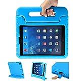 LEADSTAR Funda para Nuevo iPad 9.7 Tableta Caso de Los Niños a Prueba de Golpes Luz Peso Mango Soporte Super Protección Cubierta para Apple iPad Air/iPad Air 2 / iPad 9,7 2017/2018 Tablet (Azul)