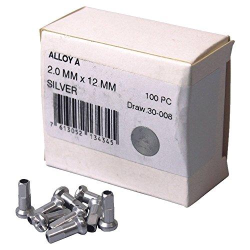 Caja 100 Cabecillas DT Aluminio 2 Mm