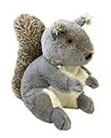 【Happypet】イギリス発 小型犬向け 「持って来い」遊びにどうぞ 獲物風おもちゃ ウッドランド (リス)