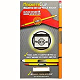 MagnetaClip - Magnetic Hat Clip Pencil Holder With Strong Magnetic Clip For Standard Pencils and Carpenter Pencils (1)