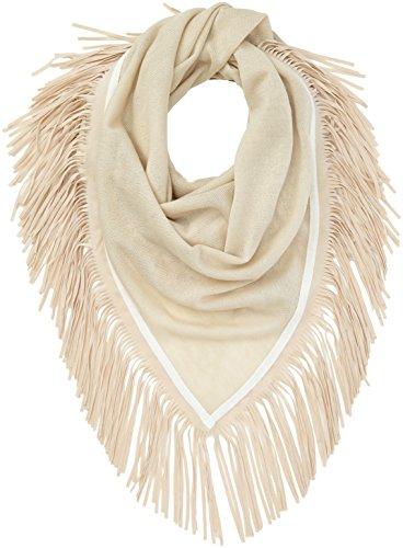 OPUS Damen Apuni scarf Schal, Beige (Dried Ginger 2035), One size (Herstellergröße: 0)