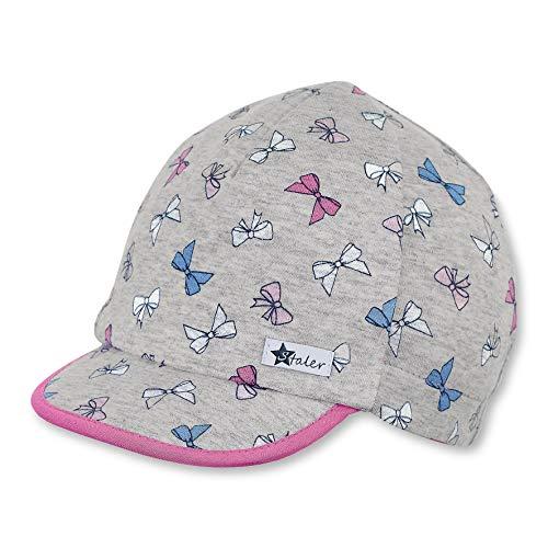 Sterntaler Peaked Cap Sombrero, Gris (Silver 513), XXX Grande (Talla del Fabricante: 45) para Bebés