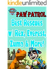 paw patrol comic book: Best Rescues w/ Rex, Everest, Zuma & More! (English Edition)