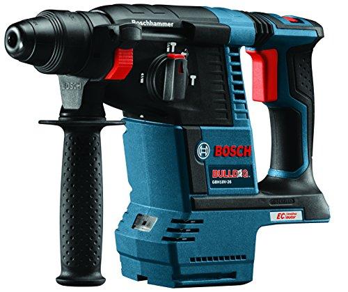 Bosch GBH18V-26 Bare-Tool 18V Lithium-Ion Brushless 1' SDS-plus Bulldog Rotary Hammer