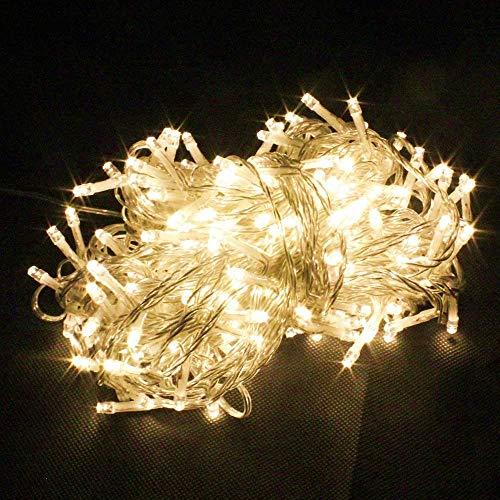 BRIGENIUS- Store Still LED String Light for Diwali Lights (Warm White 1)