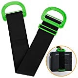 Adjustable Lifting and Moving Strap Carrying Strap Multifunctional Carrying Belt with Durable Handles Support 500Lbs Heavy Object for Furniture, Boxes, Mattress,Construction or Awkward Objects