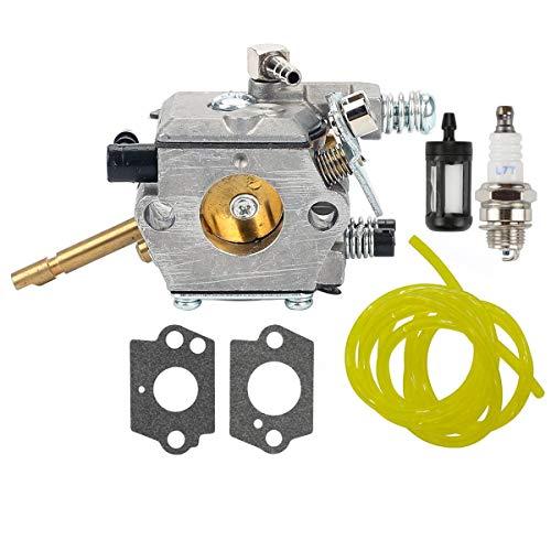 Hippotech Carburador C15-51 con Juntas para Stihl FS160 FS220 FS280 FS290 FR220 Cortadoras de Hilo Desbrozadora Weedeater Reemplace Zama C15-51 C1S-S3D WT-223