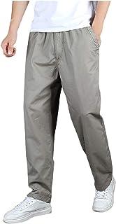 comprar comparacion Subfamily Pantalones de Trabajo Sueltos de Gran Tamaño para Hombre Al Aire Libre, Casual Moda Loose Plus Size Al Aire Libr...