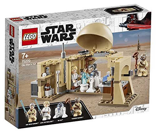 LEGO75270StarWarsCabañadeOBI-WANJuguete...