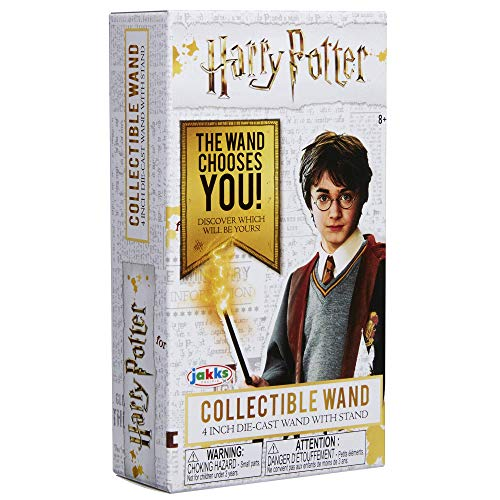 Jakks Pacific Surtido Coleccionable Sorpresa Varitas Collectable Harry Potter Magic Wands, Modelos aleatorios, 1 unidad, multicolor, Talla Única (81931-11L-PDQ-12)