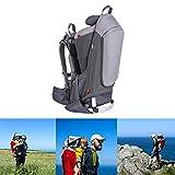 Mochila-Porta-Bebé para Bebés y Niños de hasta 25 Kg Gran Comodidad para Senderismo Trekking Viajes Portabebés,Gris