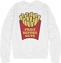 Fries Before Guys: Unisex Gildan Crewneck Sweatshirt