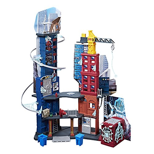 Product Image of the Marvel Spider-Man Mega City Playset