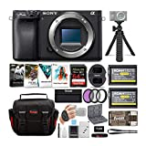 Sony a6400 Mirrorless Digital Camera (Body Only) Bundle with High Speed 64 GB SDXC...