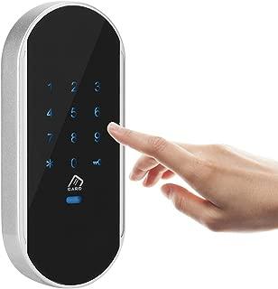 電子ロック ドアアクセス制御システム カードパスワードドアセキュリティシステムキット スマート電子パスワードコード化誘導ロック 盗難防止