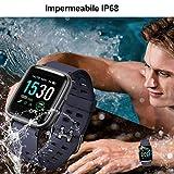 Immagine 1 yamay smartwatch orologio fitness uomo